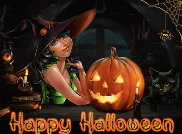 Встречаем Хэллоуин!!!